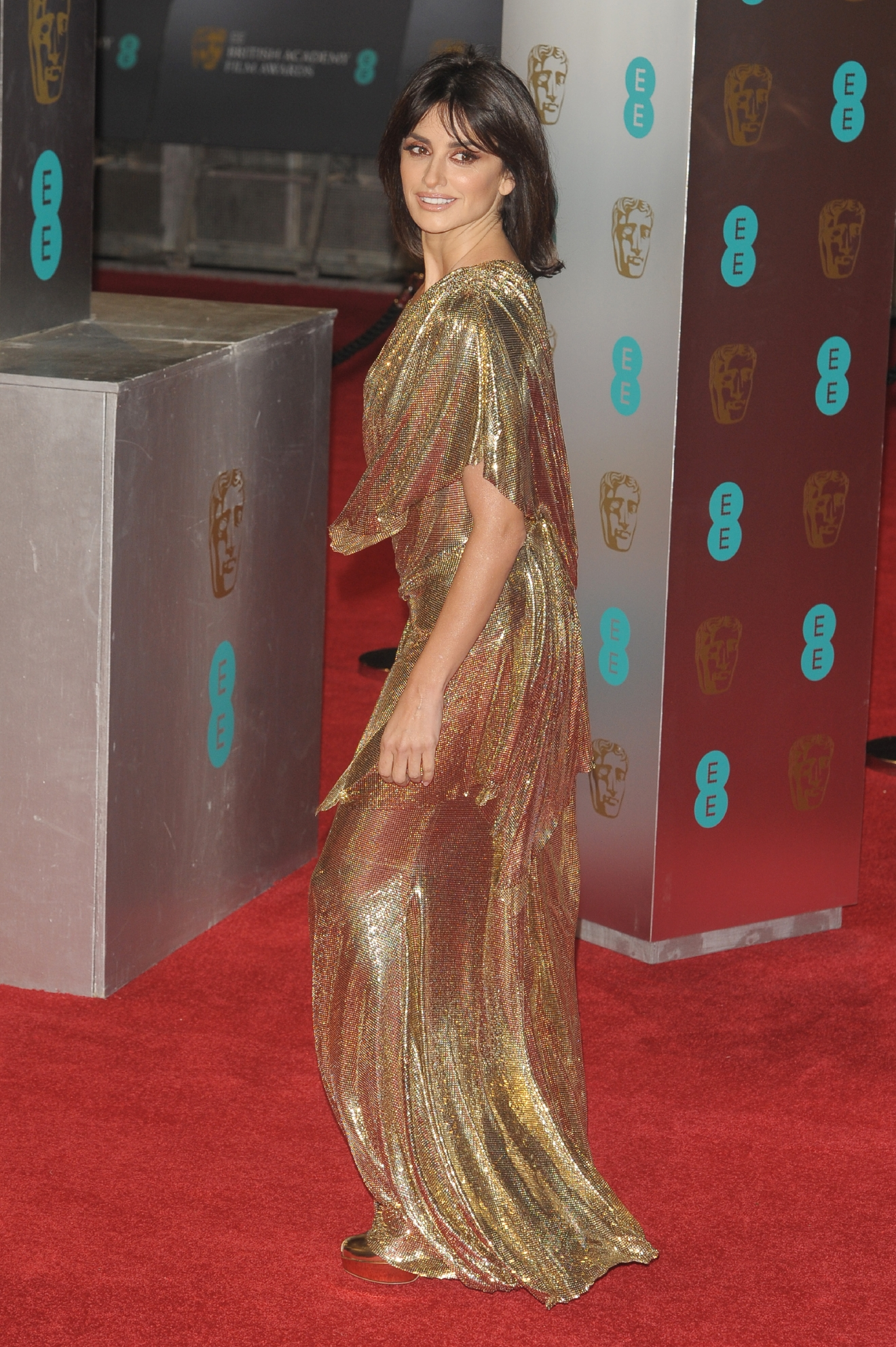 The 2017 EE British Academy Film Awards held at the Royal Albert Hall - Arrivals                                    Featuring: Penelope Cruz                  Where: London, United Kingdom                  When: 12 Feb 2017                  Credit: Zibi/WENN.com