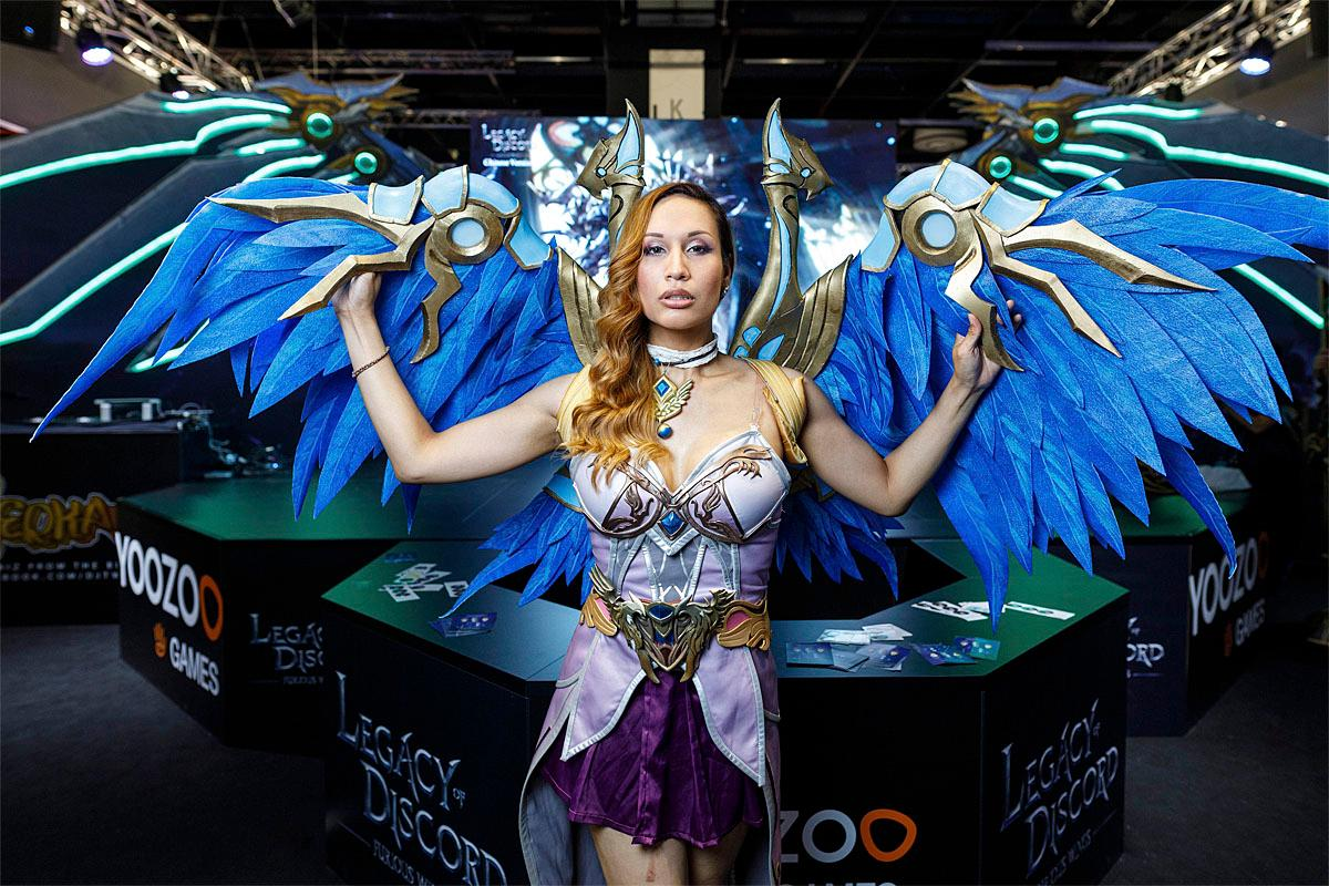 Gamescom 2017  in Cologne, Nordrhein-Westfalen, Germany Credit: Christoph Hardt/Future Image/WENN.com