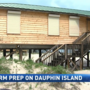 Dauphin Island preps for Subtropical Storm Alberto