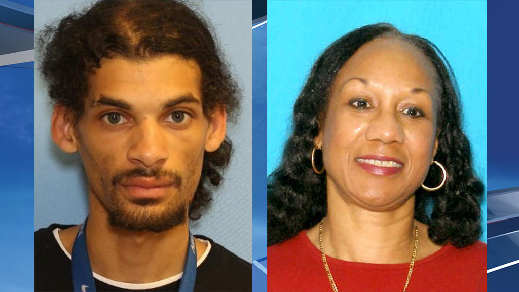 Murder suspect Lance Rougeau (left) and murder victim Linda Sweezer (right) (Photos via Pierce County Sheriff's Department)