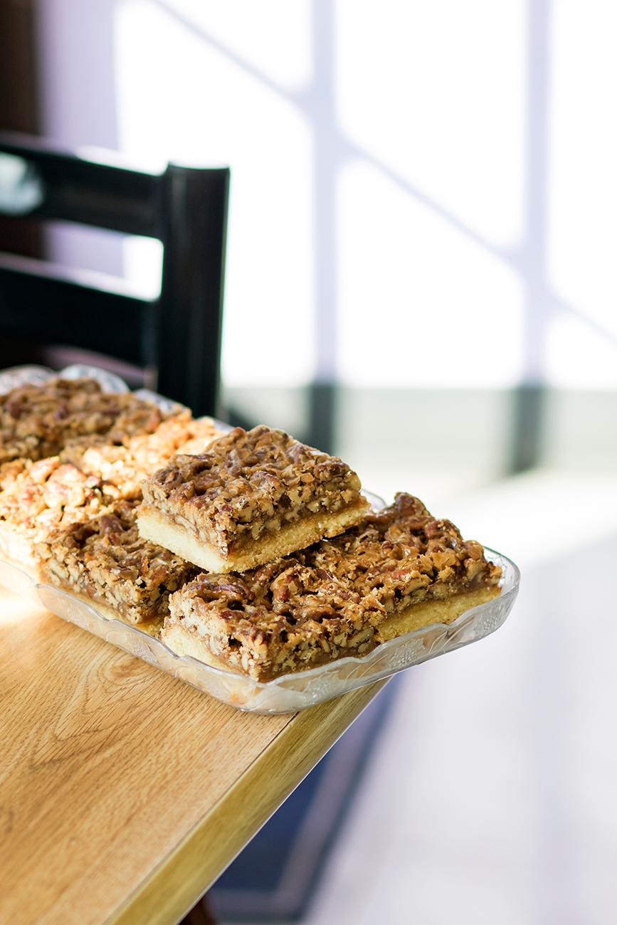 <p>Pecan bars{&nbsp;}/ Image: Allison McAdams // Published: 11.9.18</p>