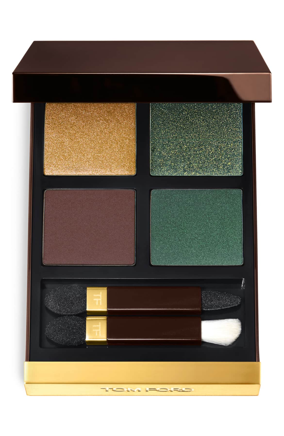 What it is: A palette of four coordinated eyeshadows in sparkling to matte finishes designed to create soft to bold iconic Tom Ford eyes. $88 (Image: Nordstrom){ }