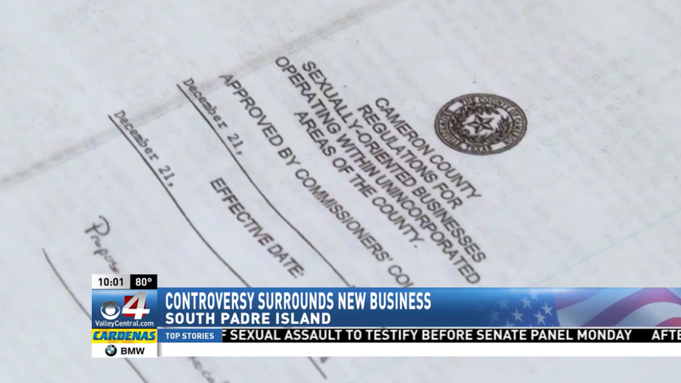 Texas sexually oriented business tax