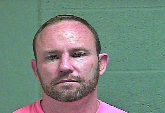 Matthew Paquette, 40, was arrested March 28 in Oklahoma City on complaints of offering to engage in an act of prostitution. (Oklahoma County Jail)