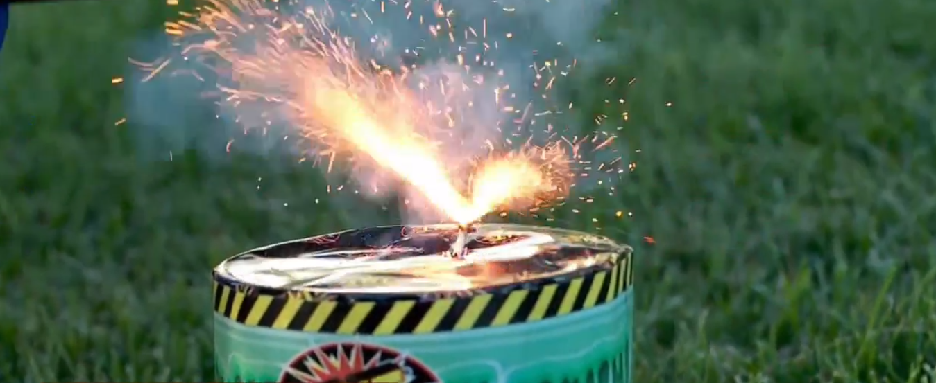 Utahns lighting fireworks in restricted areas could be fined $1,000 (Photo: KUTV)