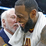 Popovich reportedly all in at making a case for the Spurs to LeBron James