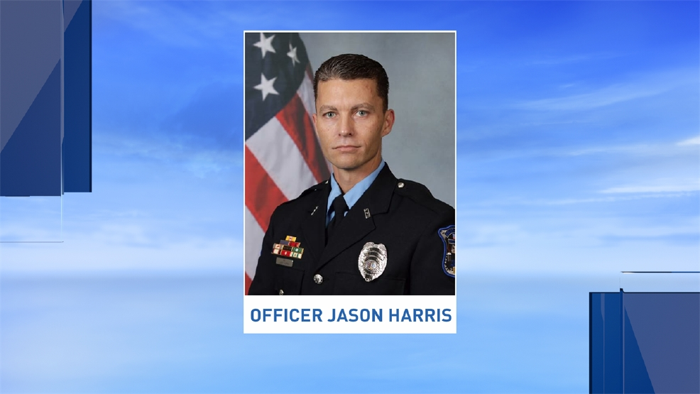 Master Patrol Officer Jason Harris died on Thursday after suffering several injuries from a crash Tuesday. (Photo credit: Spartanburg Police Department)