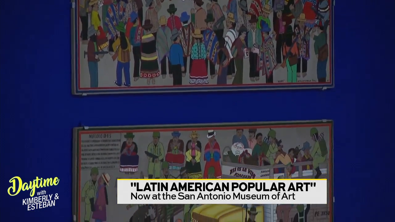 "San Antonio Museum of Art ""Latin American Popular Art"" Exhibition"