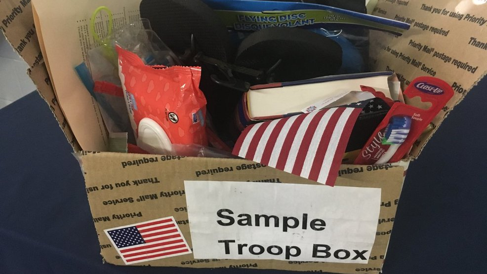 Christmas care packages for troops stolen from WA VFW