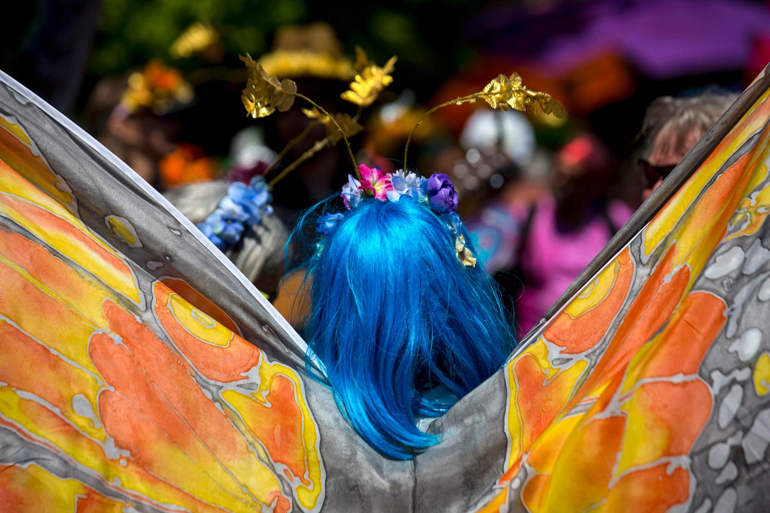 "2018 Fremont Solstice Parade. Today we're celebrating what would have been the 2020 Fremont Solstice Parade with a look back at parade's past and remembering how downright wild and wacky they are. We know you're missing that creative release Seattle - we are too! The Fremont Artist Council is{&nbsp;}<a  href=""https://fremontartscouncil.org/parade/"" target=""_blank"" title=""https://fremontartscouncil.org/parade/"">having a Virtual Parade</a>{&nbsp;}and heck, no judgment from us if you want to watch it naked or with body paint on. See you next year… (Image: Sy Bean / Seattle Refined)"