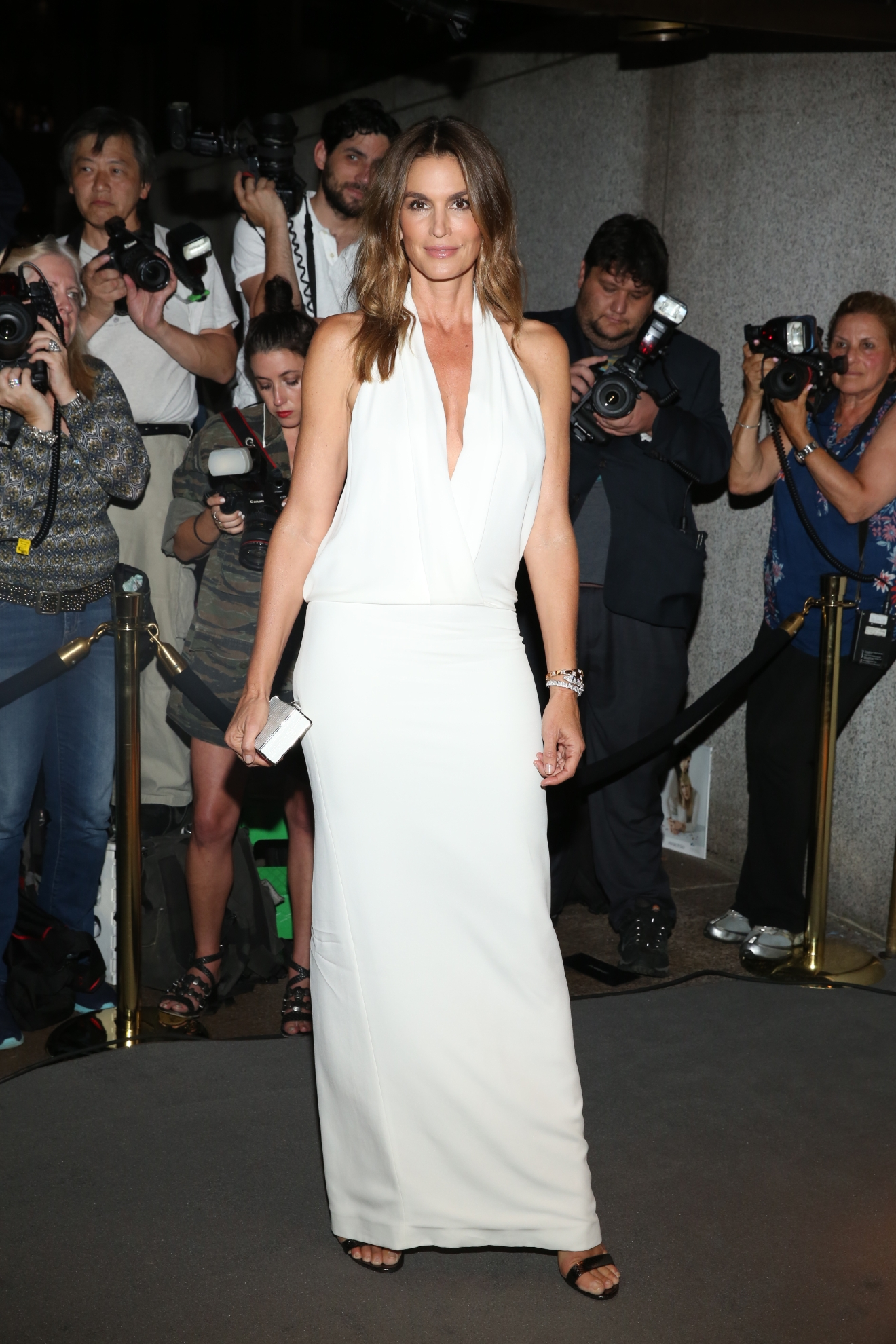 New York Fashion Week September 2016 - Men's and Women's SS17 - Tom Ford - Presentation Arrivals  Featuring: Cindy Crawford Where: New York, New York, United States When: 07 Sep 2016 Credit: Jeff Grossman/WENN.com