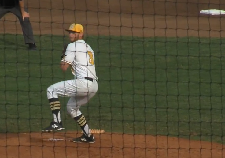 Sodbusters pitcher Trey Kissack strikes out seven batters in seven innings. (NTV Sports)