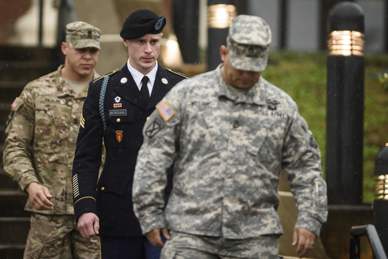 The Friday hearing will likely include further arguments on whether prosecutors should be allowed to admit evidence of injuries to service members who searched for Bergdahl.(Andrew Craft/The Fayetteville Observer via AP, File)