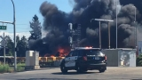 26 school buses gutted as Puyallup bus barn erupts in flames, explosions