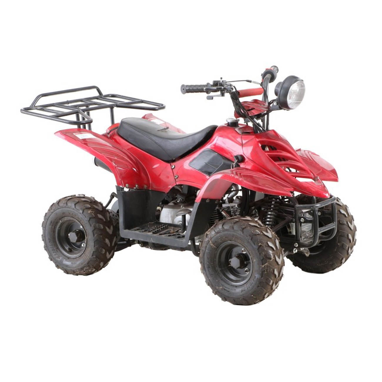 This small all-terrain vehicle was driven by the Reds mascots. It is 32.5 inches high and 51 inches long. / Image courtesy of Everything But The House (EBTH) // Published: 12.6.18