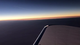 VIDEO: View of total solar eclipse from airplane over Corvallis