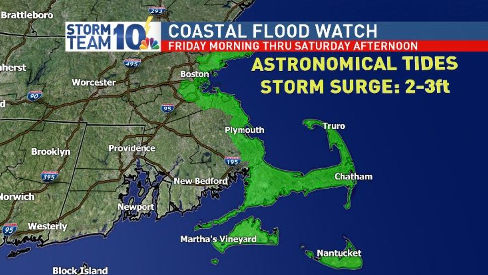 Nor'easter brings concern for coastal flooding