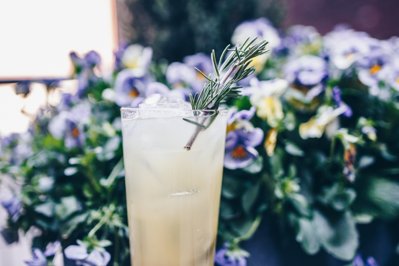Tito's Austin Blossom: Tito's Handmade Vodka, fresh pineapple and lime, agave syrup, and rosemary / Image: Catherine Viox // Published: 5.8.18