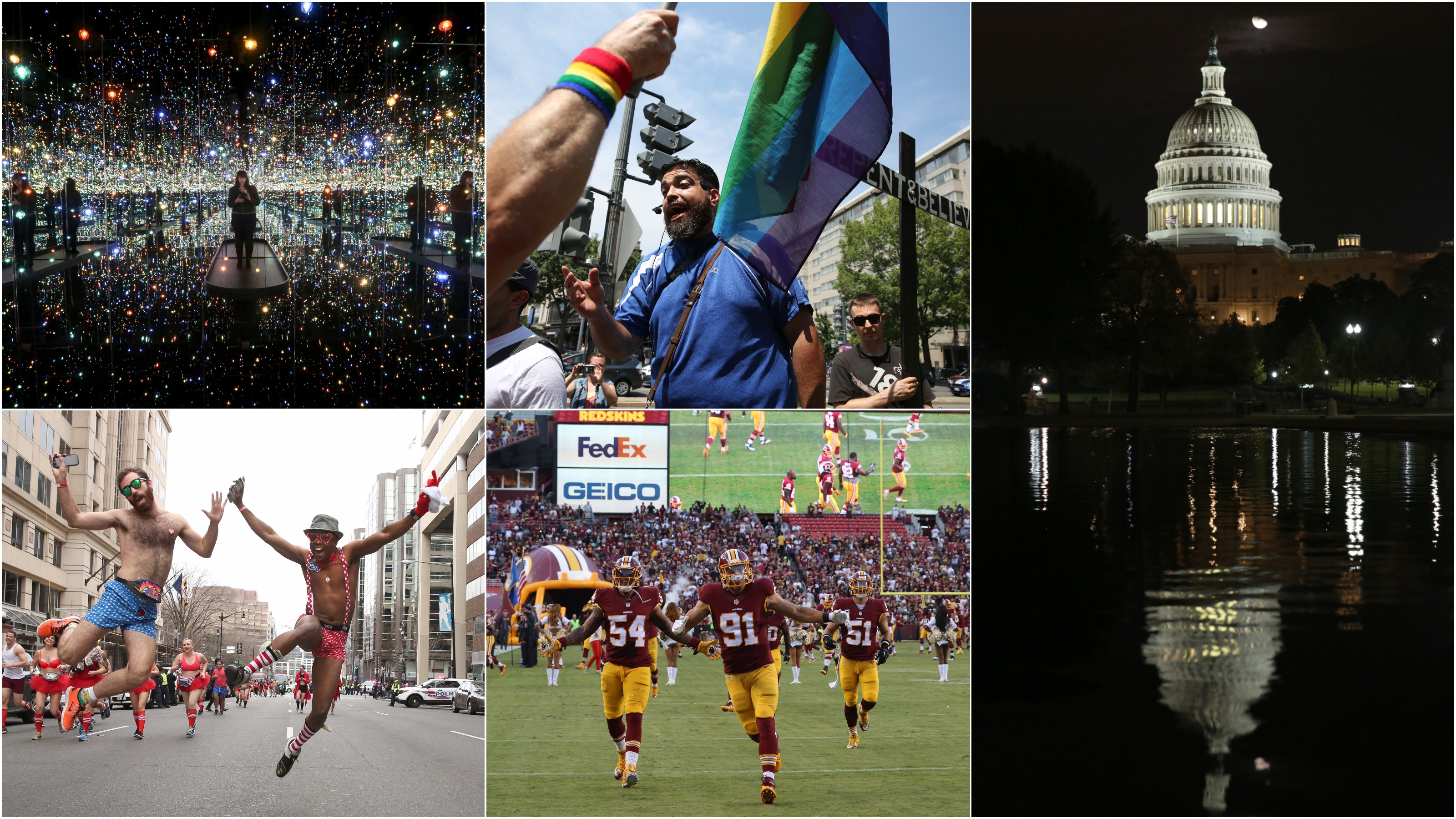 DC Refined was launched on April 14, 2016 and over the past year we've photographed two presidents, hundreds of corgis, drag queens, football players and many of the moments that defined our world in the last 365 days. These were some of our best photos. (Amanda Andrade-Rhoades/DC Refined)