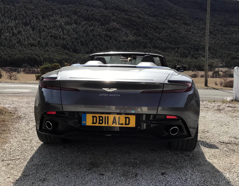 PHOTO GALLERY Aston Martin DB Volante WUTV - Aston martin db 11