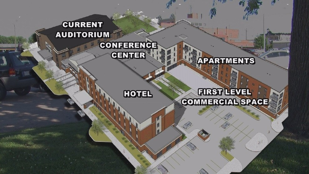 The proposed City Block Project for Hastings that was announced to be dead after developers pulled out ahead of a ballot vote (NTV News)