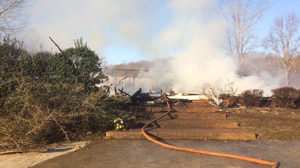 Popular Wedding Venue Burns To The Ground In Rising Fawn