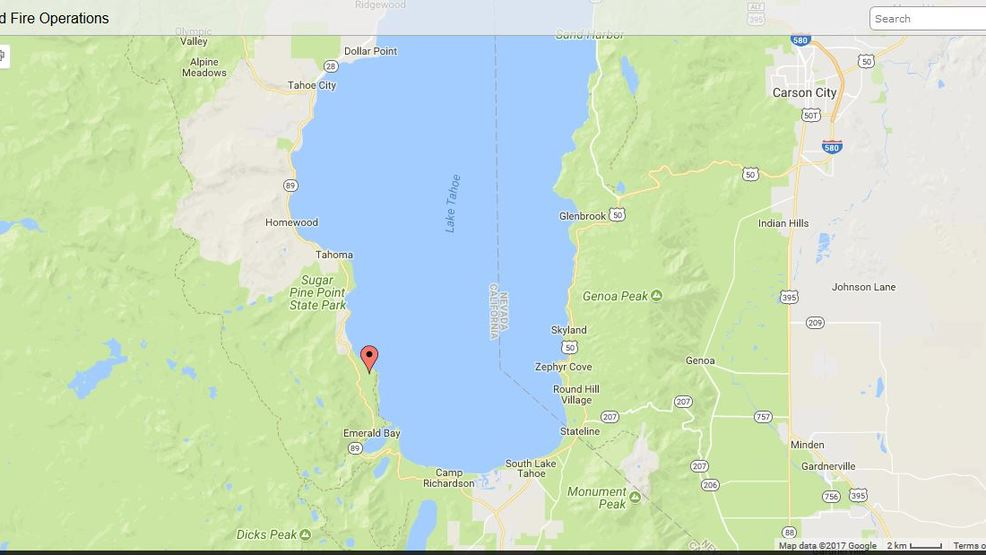Prescribed Fire Coming To State Park Near South Lake Tahoe Krnv