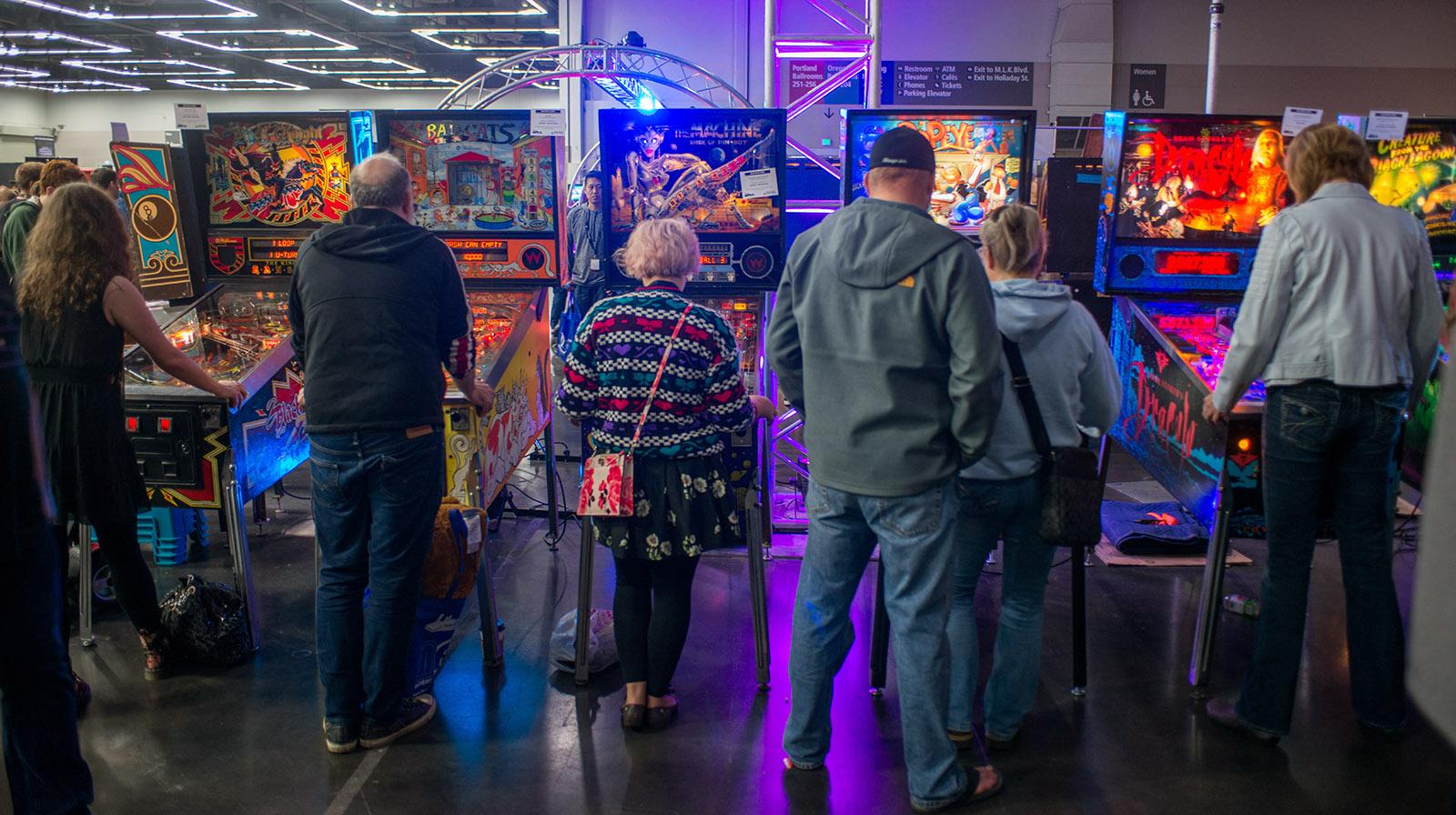 Gamers of all ages filled the Oregon Convention Center over the weekend for the 2017 Portland Retro Gaming Expo, an event dedicated to continuing the legacy of classic video games. This year the event honors the Atari 2600 VCS, which turned 40 years old this year. (KATU photo taken October 22, 2017)