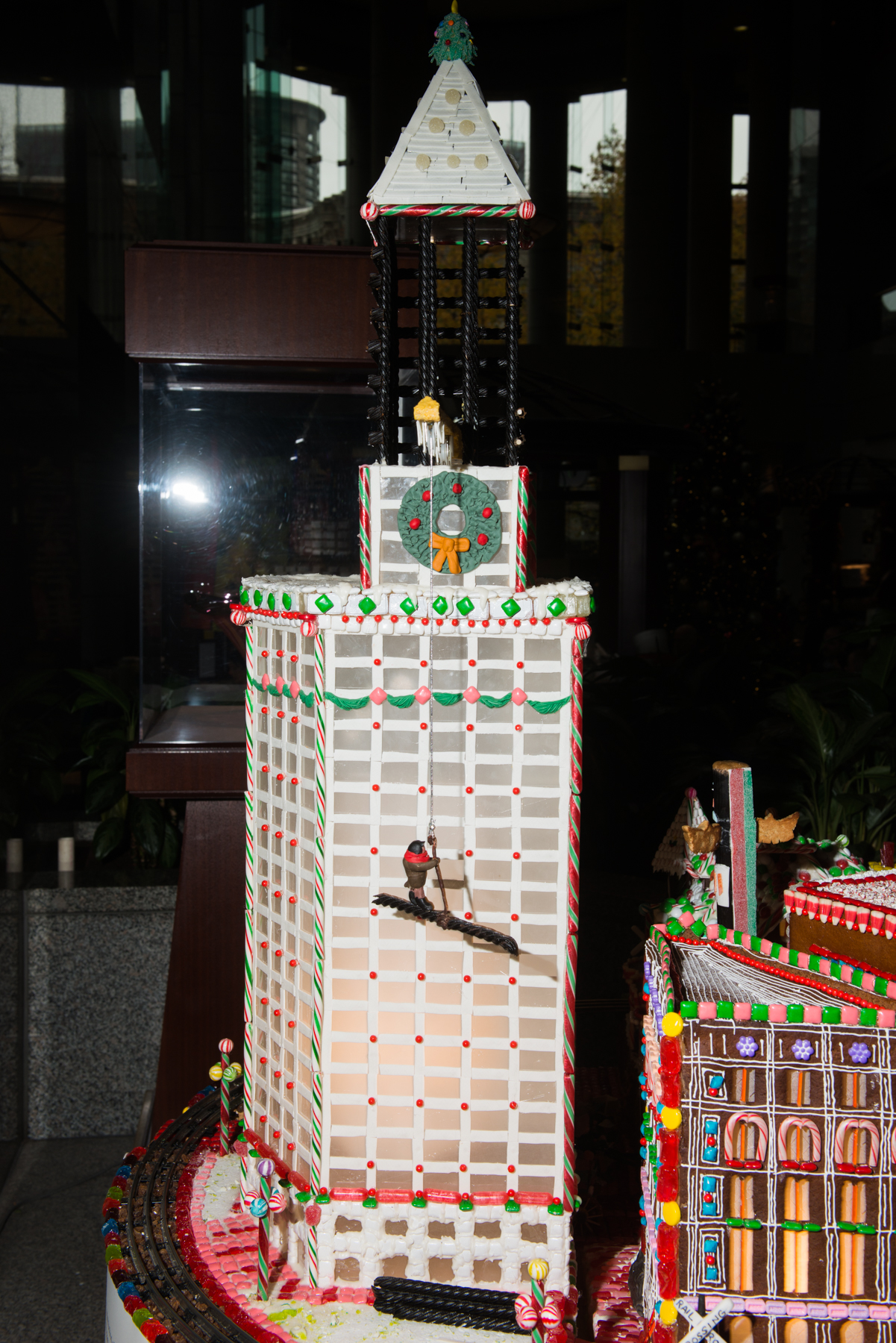 For 25 years, Seattle has embraced the Sheraton Seattle's Annual Gingerbread Village benefiting the Northwest Chapter of the Juvenile Diabetes Research Foundation. As a tribute to the city, the theme for the 25th Annual Gingerbread Village is 25 Years of Cheer: A Celebration of Seattle. Sheraton invites visitors to stroll through Seattle's cobblestone past and glimpse into its future, reflecting on what makes the city special. The village is free, with donations benefitting JDRF Northwest Chapter. The Village opens to the public on November 21 and runs through January 1, 2018. This year, Gingerbread Village will be located across the street from the Sheraton at the City Centre building. For the first time, the public will be able to view part of the displays from the street. (Image: Chona Kasinger / Seattle Refined)