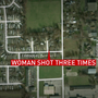 Decatur woman shot 3 times in own home