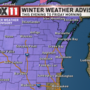 Next WeatherMaker: Winter Weather Advisory starts tonight