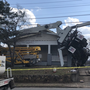 Crane topples over houses in North Chattanooga Friday