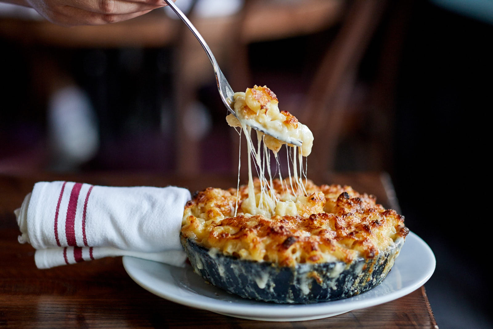 Skillet Mac and Cheese at The Smith (Photo credit: The Smith)<p></p>