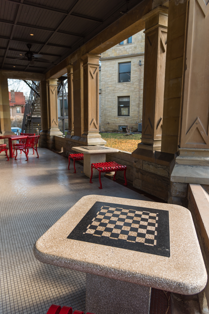 Amazing The Clifton Branch Of The Cincinnati Public Library Is Located Inside The  Renovated Historic House Of