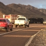 Update: Overturned semitruck on Transmountain Road cleared