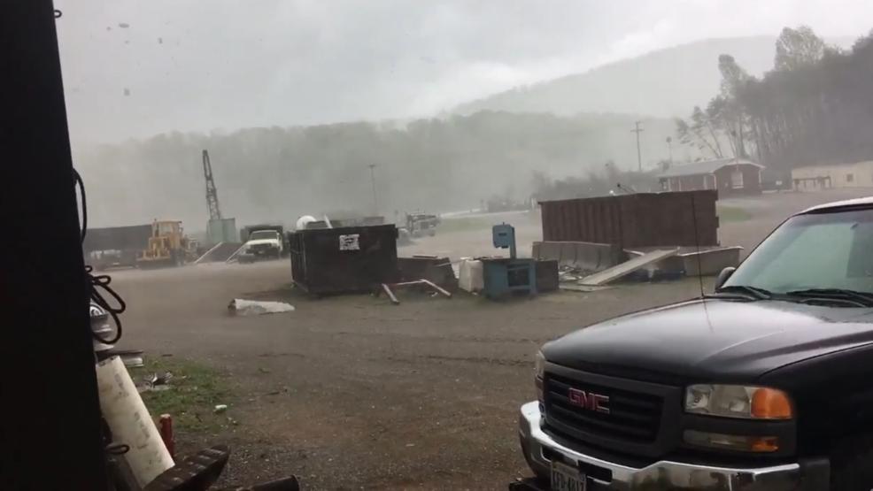 Tornado hits in Virginia, destroying several homes
