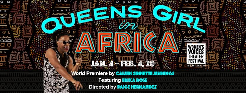 Queens Girl in Africa at Mosaic Theatre Company. (Artwork courtesy of Mosaic Theatre Company)<p></p>