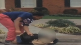 Graphic video: High school student brutally attacked at bus stop