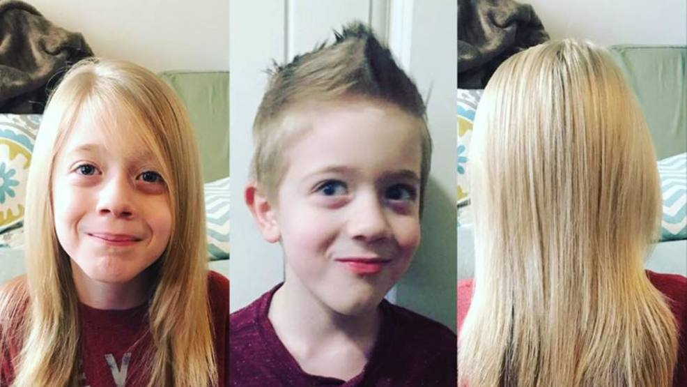 Autistic Utah Boy Cuts Long Hair For Charity Kutv