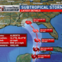 Subtropical Storm Alberto triggers flood watches