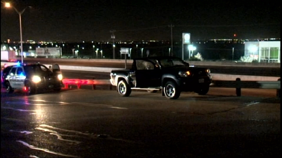 Driver shot in the stomach following road rage incident on I