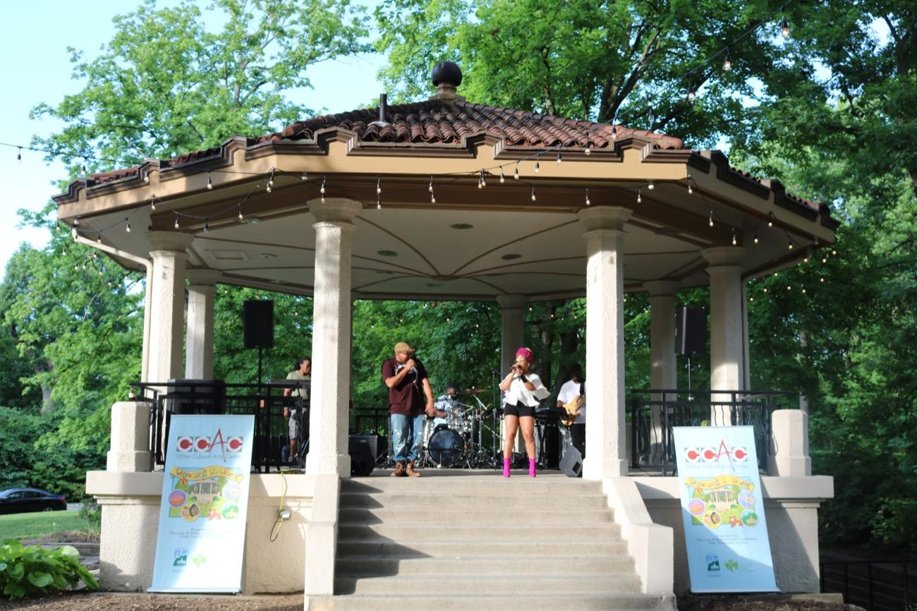 <p>NEIGHBORHOOD CONCERTS: Concerts and events are happening all summer at Ault Park, Stanbery Park, Rapid Run Park, Oden View Park, Kennedy Heights Park, Piat Park, Alms Park, and Mt. Echo Park. / Image courtesy of Cincinnati Parks</p>