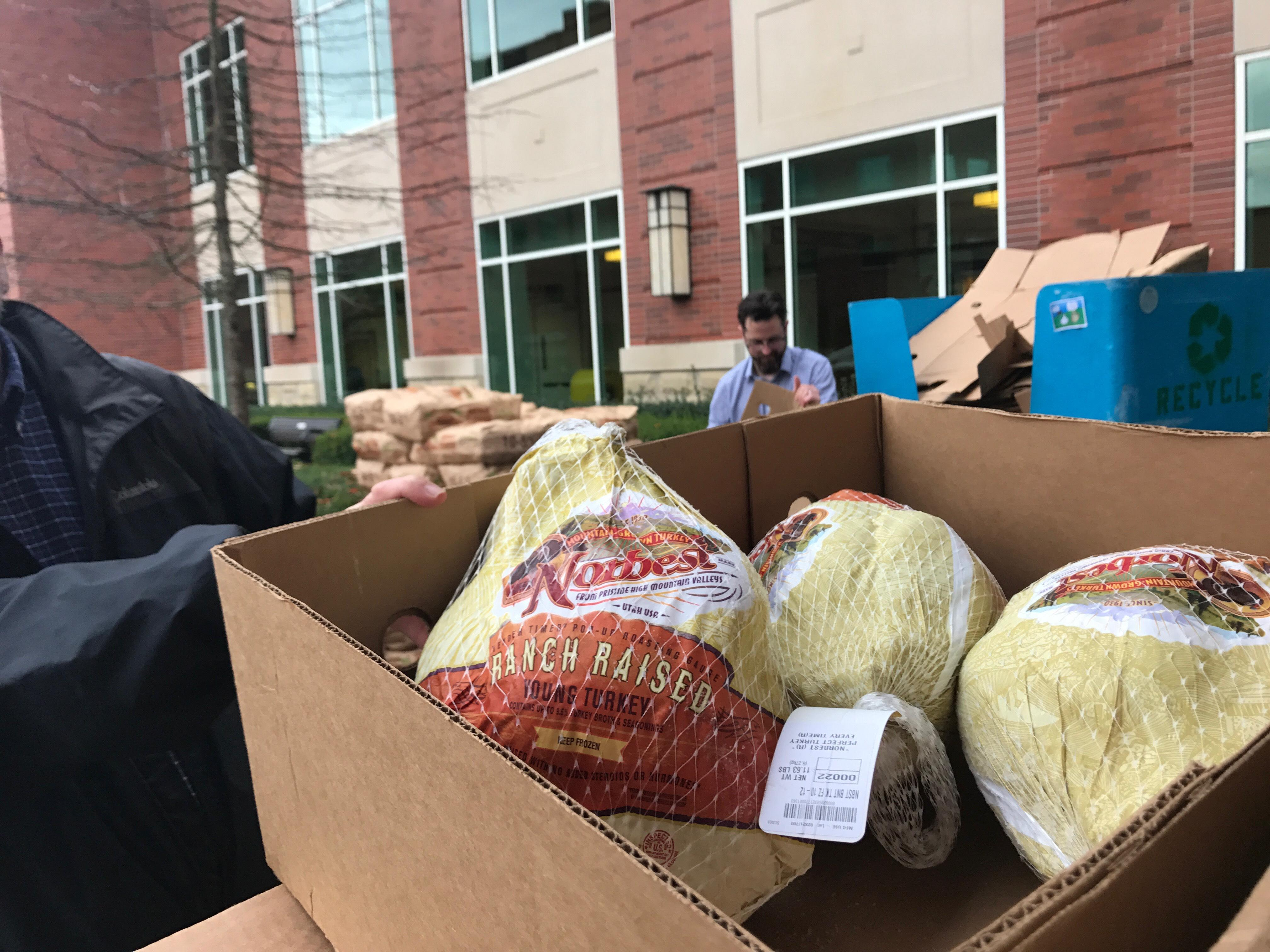 Sacred Heart Riverbend to help feed more than 800 people this Thanksgiving