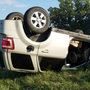 Driver escapes uninjured from rollover crash near Kirksville airport