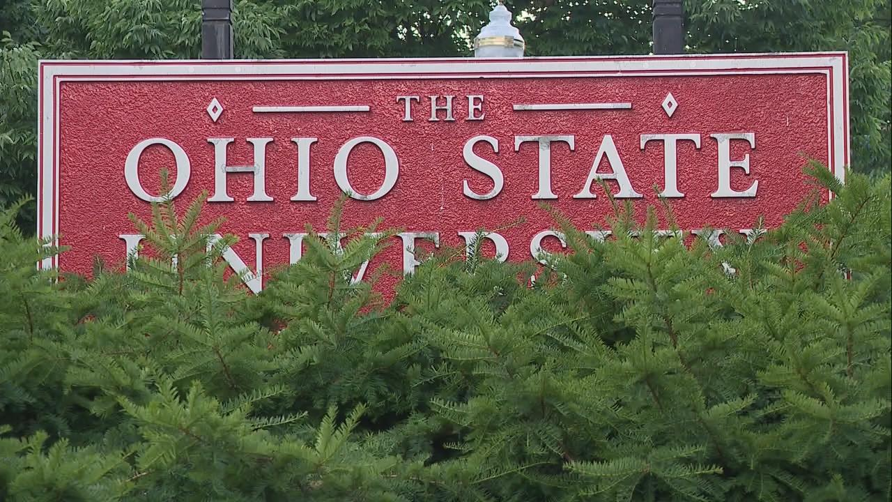 File Photo: Sign at The Ohio State University (WSYX/WTTE)<p></p>