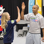 Seahawks wide receiver pays a visit to Treasure Valley kids