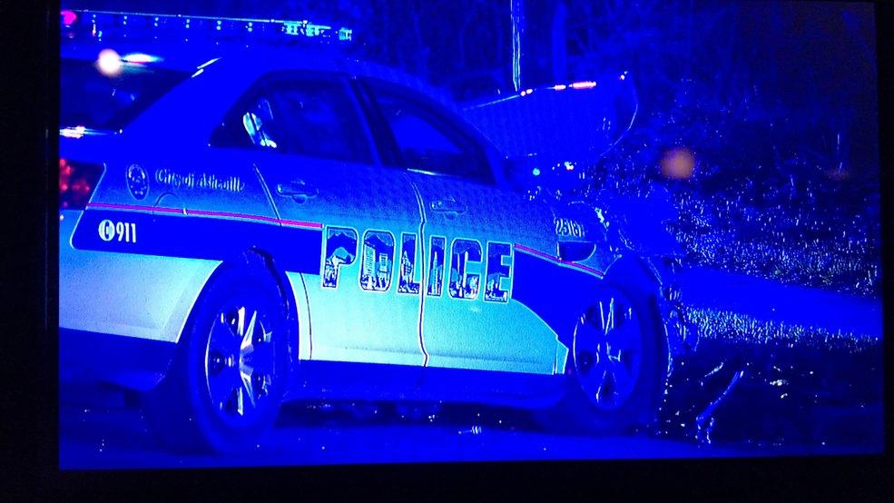 Asheville police officer involved in crash