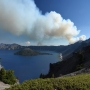 Wildfire near Crater Lake National Park grows to 150 acres