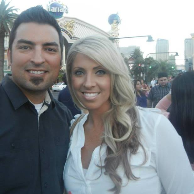 Elise Ybarra and her husband Adam.