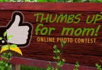 Thumb's Up For Mom